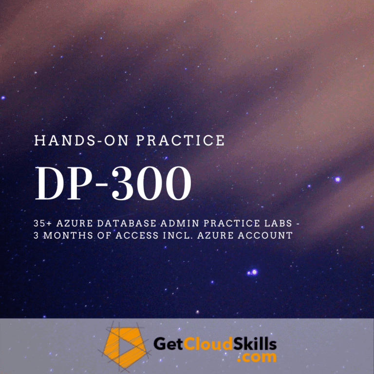 Read more about the article MS Exam: DP-300